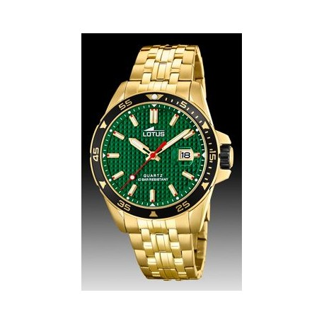 RELOJ LOTUS EXCELLENT_VERDE