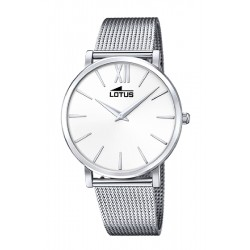 RELOJ LOTUS SMART CASUAL_PLATA Y BLANCO